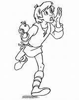 Cauldron Coloring Pages Taran Disney Disneyclips Templates Template Funstuff sketch template