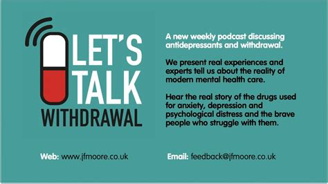 episode  claire talks  antidepressant withdrawal