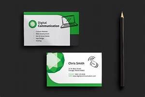 Business cards and website design best business cards for Website business card template