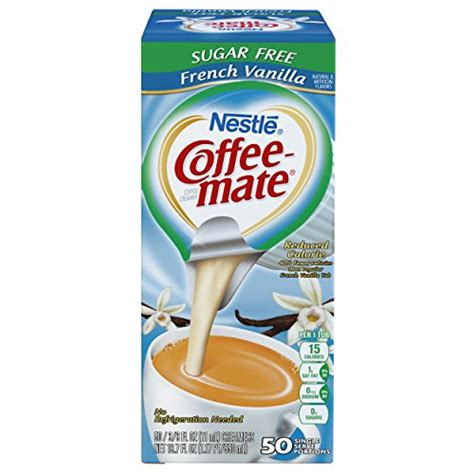 Which is a better choice to use in my coffee? NESTLE COFFEE-MATE Coffee Creamer, Sugar Free French Vanilla, - Import It All