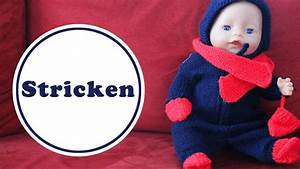 Baby Mützchen Stricken : puppen overall stricken f r baby born kostenlose anleitung youtube ~ Orissabook.com Haus und Dekorationen