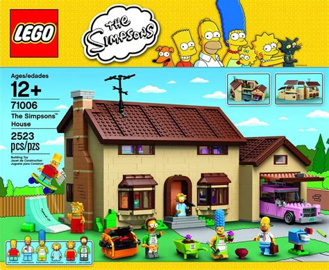 Watch The Lego Simpsons House Being Built