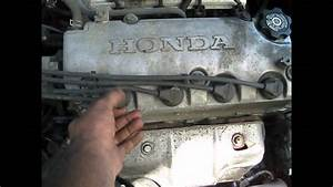 1999 Honda Civic 4cyl  Spark Plugs  Wires How To Replace Walk Through Step