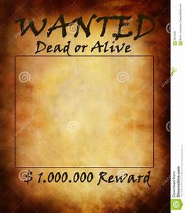 Old Wanted Paper Royalty Free Stock Image - Image: 4224056