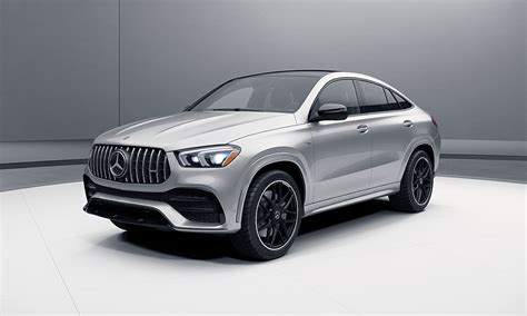 It's hard to discern the changes at first glance. 2021 Mercedes-AMG® GLE 53 Coupe