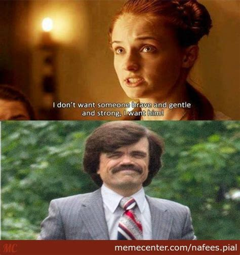 Tyrion Meme - sansa and tyrion by nafees pial meme center