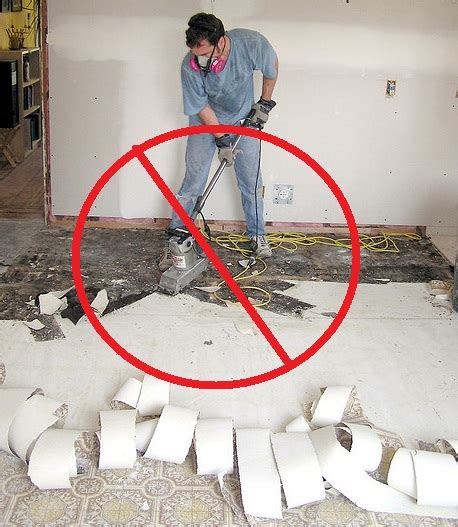 critical advice  asbestos   basementthe floors