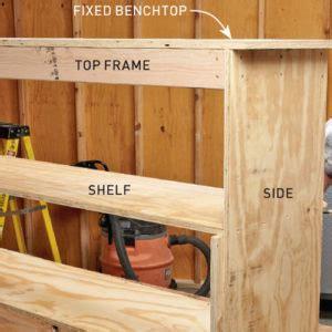 build  space saving workbench  zealand handyman magazine