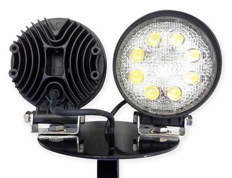 post mount led lights post mounted led work light 24 inch aero specialties