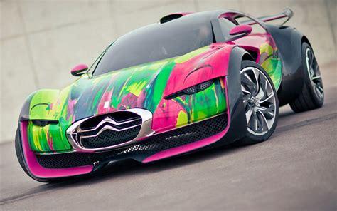 2010-citroen-survolt-art-car Wallpapers And Images