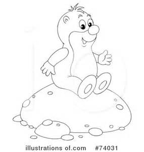 gopher clipart black and white gopher clipart 74031 illustration by alex bannykh