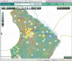 Greenwood County SC Map