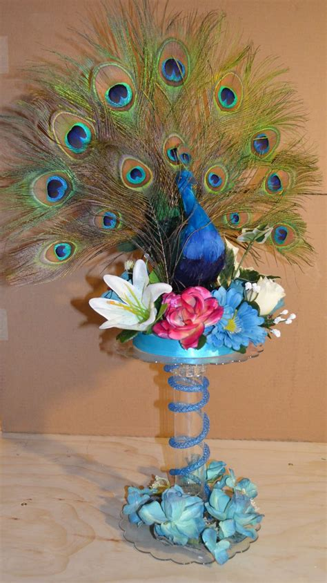 buy sweet 16 centerpiece peacock 54 best images about centerpieces sweet 16 quinceanera