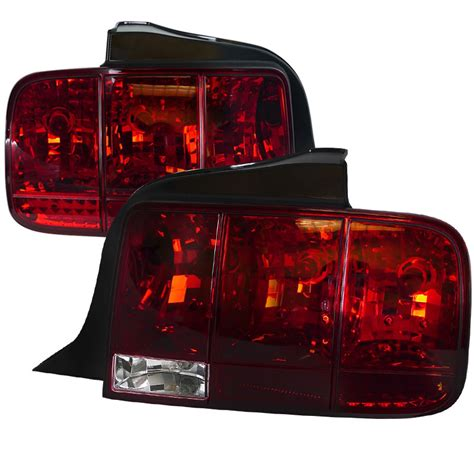 05 mustang sequential tail lights 05 09 ford mustang facelift 2010 sequential style euro