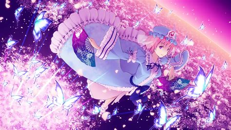 Pink Anime Wallpaper - pretty pink and purple background 183