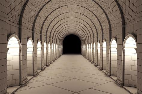 3d Wallpaper For Wall by 3d Corridor Wallpaper Wall Decor