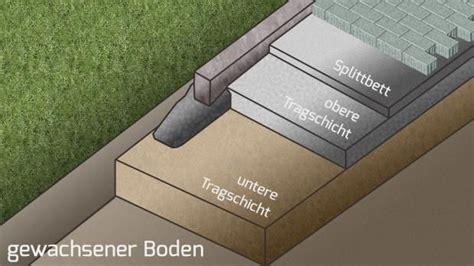 Vlies Für Pflasterarbeiten by Vorbereitung Zum Pflastern Die Tragschicht Garten