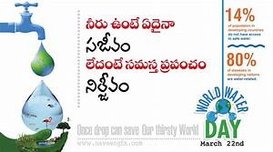 slogans on water pollution on world water day | naveengfx