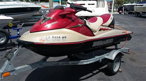 2002 Sea Doo Gtx 4 Tec Limited Power Boat For Sale