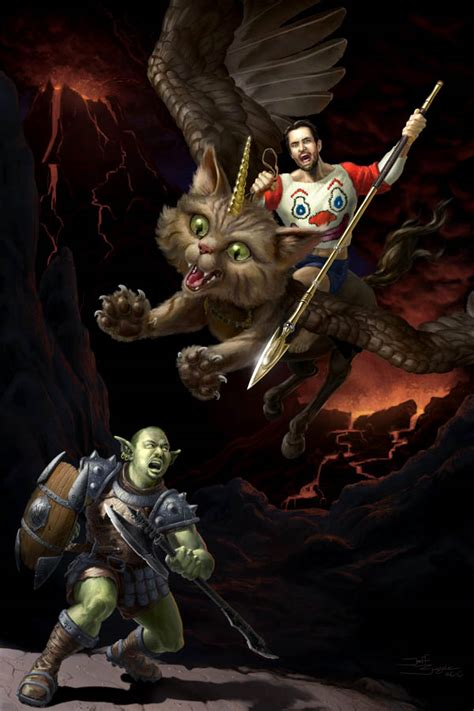 neatorama dragon cat popped culture wil wheaton and the unicorn kitteh of
