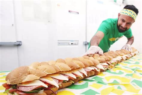 Hungry? You Can Now Get A Six Foot Subway Sandwich