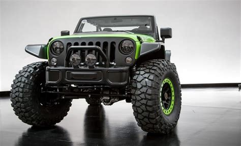 Most Expensive Jeep Model by Jeep Wrangler Trailcat Concept S Gear