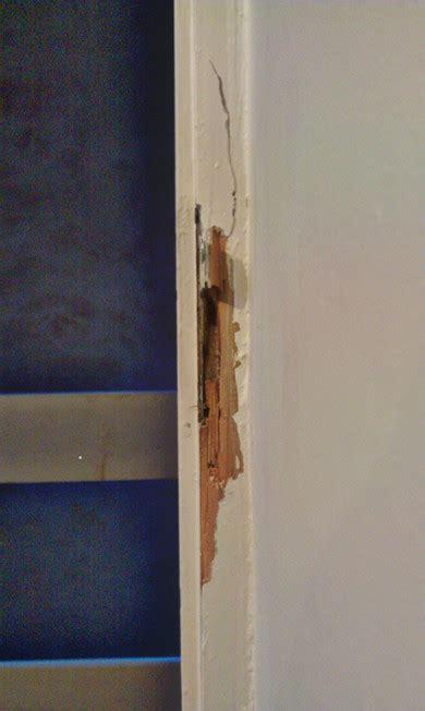 Door Jamb Repair by How Do I Repair A Broken Wooden Door Jamb Home