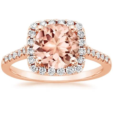 Morganite Odessa Ring (14 Ct Tw) In 14k Rose Gold. Terminator Rings. Vogue Engagement Rings. Ideal Cut Diamond Engagement Rings. One Half Engagement Rings. One Diamond Wedding Rings. Celebrity Engagement Engagement Rings. Diamondless Engagement Rings. Different Color Stone Engagement Rings