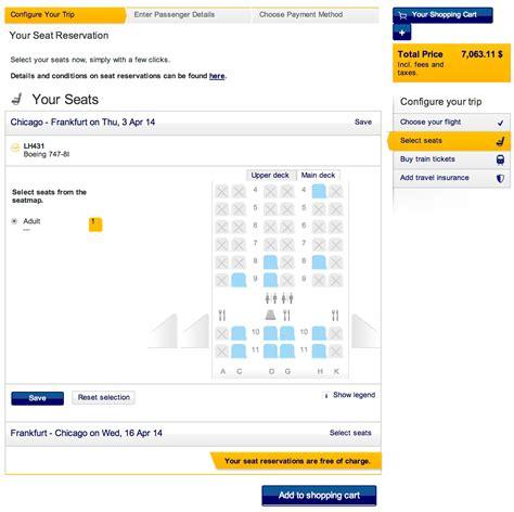 Seat Assignment Lufthansa Brokeasshomecom