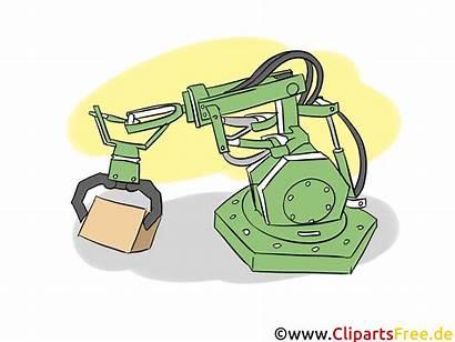 Robot Cliparts Industrie Grafiken Wirtschaft Band Clipart