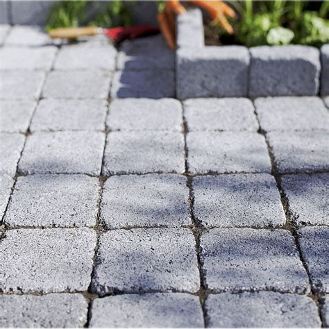 pave granit leroy merlin pav 233 samara en b 233 ton gris noir nuanc 233 l 10 x l 10 cm 233 p 40 mm leroy merlin