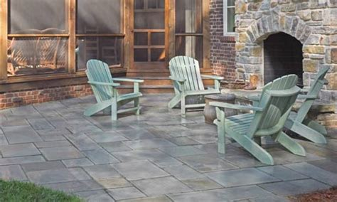 protect  paver patio   glossy finish
