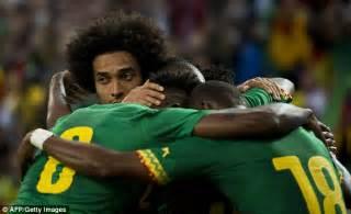 Cameroon set to depart for Brazil after settling bonus ...