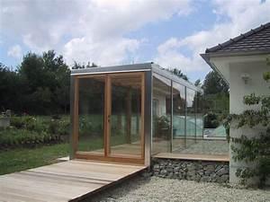 orangerie With ordinary amenagement entree exterieure maison 13 terrasse moderne contemporain terrasse et patio