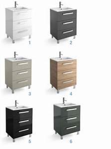 3 Suisses Meuble Salle De Bain : meubles lave mains robinetteries meuble sdb meuble de salle de bain sur pieds 60 cm ~ Teatrodelosmanantiales.com Idées de Décoration