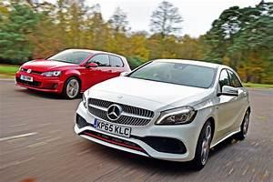 Mercedes A 250 : mercedes a 250 amg vs volkswagen golf gti auto express ~ Maxctalentgroup.com Avis de Voitures