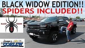 Sca Performance  2017 Silverado Black Widow Edition