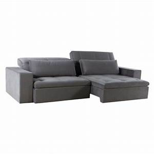 Sofa 2 60 M : sof retr til firenze 3 lugares cinza 2 2m suede ~ Bigdaddyawards.com Haus und Dekorationen
