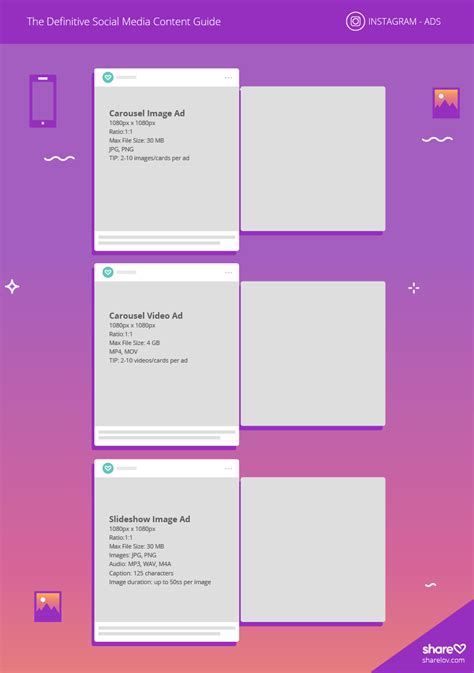 Instagram Sizes 2018 Guide For Social Media Image Sizes And More