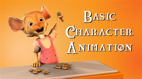 Basic Character Animation - YouTube