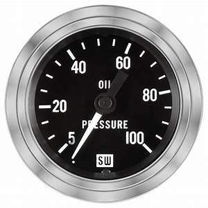 Deluxe Oil Pressure Gauge  P  N 82323