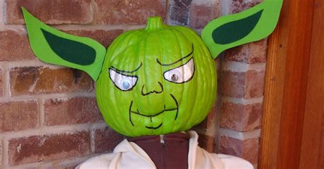 yoda pumkin mama bear bedtime books how to make a yoda pumpkin for halloween