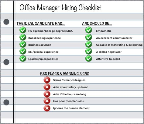 dental front desk training checklist how to hire the right medical office manager