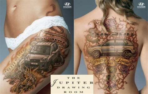car tattoos   meaning  muscle cars autoevolution