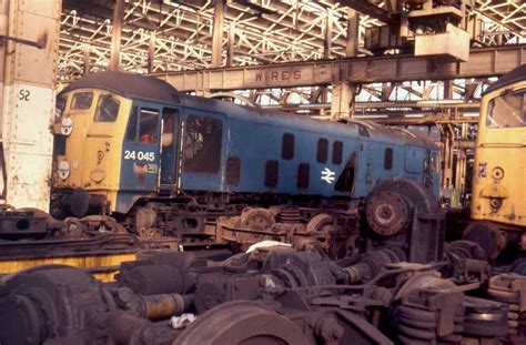 Scrap Yard Glasgow by Retired During April 1976 1049 Is Seen Here Undergoing