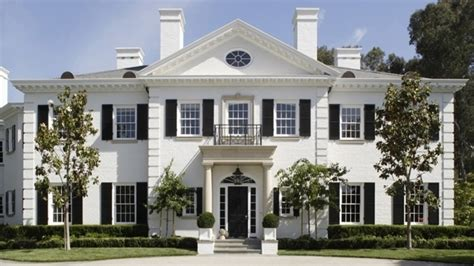 revival homes colonial revival style american colonial revival