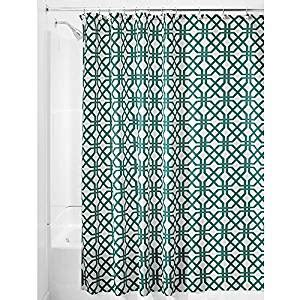 interdesign trellis fabric shower curtain 72 x 72