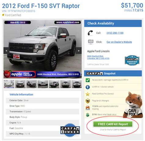 Carfax Official Site Vehicle History Reports On Used Html