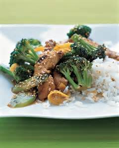 Lemon Chicken and Broccoli Stir-Fry