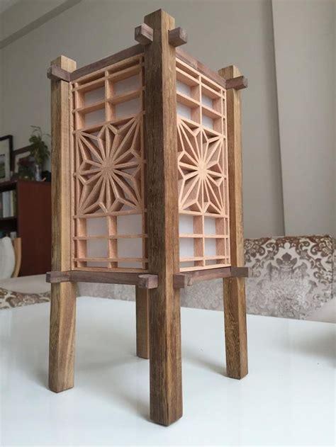 kumiko andon lamp lantern lightning accessory copper